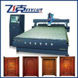 Máquina com sistema do ATC, corte de madeira do CNC e máquina de gravura