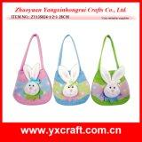 イースター装飾(ZY15Y317-1-2-3)のイースターハンドバッグのフェルト袋のイースタードローストリング袋のイースターのウサギのギフト項目