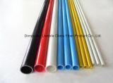 Tubo a prueba de ácido de la fibra de vidrio del tubo FRP poste de la fibra de vidrio