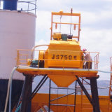 インドの構築機械装置Js750の具体的なミキサー機械価格