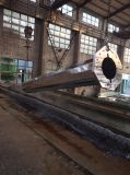 L'IMMERSION chaude a galvanisé l'acier élevé Pôle de mât de 25m