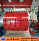 Tiras cubiertas color del acero de PPGI