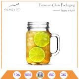 Het Drinken van het glas Kruik met GLB en Stro, met/zonder Handvat