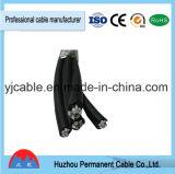 Câble d'interface de service d'ABC de conducteur et cordon en aluminium de câblage isolés par XLPE dans la qualité avec le prix bas