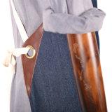 Avental resistente da cozinha da sarja de Nimes da qualidade superior com o Webbing do algodão para homens