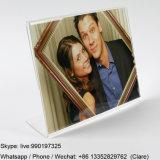 bâtis acryliques d'étalage de photo de lucite de table de pouces 6X4