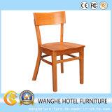 Cadeira moderna de jantar de madeira Restaurante jantar Cadeira de madeira maciça