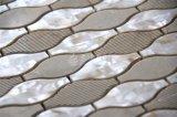 Azulejo nacarado de la pared del mosaico del mármol de la mezcla del shell del nuevo diseño 2017