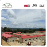 Панельный дом стальной структуры света фабрики Китая для лагеря Temporay к работникам и беженцам