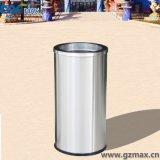 Tapa del oscilación del acero inoxidable 14 litros de mini del cubo de basura de la sala de estar redonda de la basura compartimiento del oscilación