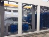 Máquina automática de la colada de coche con la sequedad