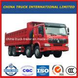 Caminhão de descarga do Tipper do veículo com rodas da roda de Sinotruck HOWO 12 para a venda