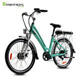 Aimosの女性のための緑の環境保護電気都市バイク