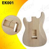 Наборы St наборов электрической гитары отрезоков машины CNC твердого тела
