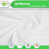 Прокатанная TPU белая водоустойчивая ткань 70%Bamboo 30%Poly Bamboo Терри