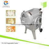 Machine végétale multifonctionnelle du coupeur FC-312, pommes chips coupeur, machine de découpage de cube en raccord en caoutchouc