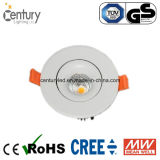 bulbo do diodo emissor de luz Downlight de 15W 3inch com entalhe de 95mm