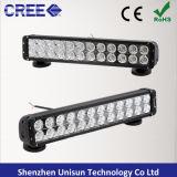 12V 20inch 240W se doblan lámpara del trabajo del CREE LED de la fila