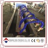 Tubo suave de la fibra del PVC que hace la máquina de la protuberancia