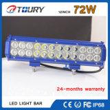 barra chiara fuori strada automatica di riga LED del doppio del CREE della lampada del lavoro 72W