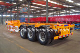 20FT 3 Axles Gooseneck Trailer Container Carrier Semi Trailer