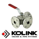 포이 Mounted Ball Valve, API 6D, PED/Ce Certificated