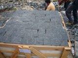 De zwarte Steen van de Kubus van het Basalt voor Bestrating