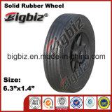 Qingdao-Qualitäts-halb pneumatisches 5 Zoll-Gummi-Rad