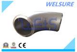 JIS 90 cotovelo do aço inoxidável S31803 do grau (2205)
