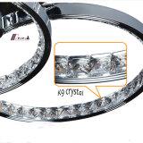 Kreiskristallleuchter-Beleuchtung mit Aluminium für Dekoration
