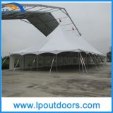 40X60' Outdoor Steel Frame Wedding Marquee High Peak 폴란드 Tent