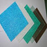 Folha gravada UV desobstruída da telhadura do policarbonato