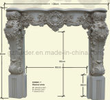 Feuerfester PU-Kamin-Kaminsims-Polyurethan-dekorative Gesimse
