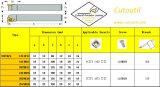 Cutoutil Stfcr/L 1212f11 для стального Hardmetal сопрягая стандартные поворачивая инструменты