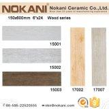 плитки взгляда Inkjet 3D керамические деревянные для стены и пола (150X600)