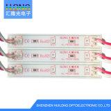 2835 garantía de aluminio brillante de la tarjeta 3years del módulo 0.72W de la inyección LED