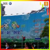 Bandiera di pubblicità esterna del PVC Frontlit della grande costruzione