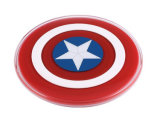 Capitano America Wireless Charger per Galaxy S6 Edge+