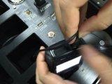 Stazione di aggancio portatile della macchina fotografica del corpo della polizia con l'altoparlante e 12 porte