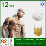 O Bodybuilding anabólico suplementa a testosterona Decanoate dos pós dos esteróides