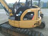 Mini excavador usado original 305c de la oruga