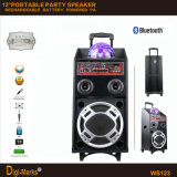 Сила DJ батареи USB/SD Bluetooth светильника Chramatic Port Party диктор
