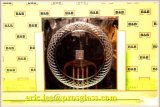 Aotomatical 유리제 CNC 조각 기계