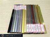 Guarnição de alumínio da telha do raio em cores anodizadas