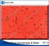 SGS 보고 (단 하나 색깔)를 가진 싱크대 탁상용 허영 상단을%s 석영 돌 단단한 표면