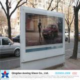 Vidrio Seda-Impreso de la impresión del vidrio/pantalla para la tarjeta de anuncio de la estación