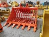 Ex330 que classifica a cubeta, acessório da máquina escavadora de Hitachi, cubeta da peneira