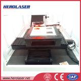Vendite di posizionamento automatiche della macchina della marcatura del laser di allineamento visivo 50W Ipg del CCD negli S.U.A.