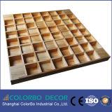 音響パネルデザイン、3D音響の拡散器の壁パネル