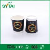 Двойная стена кофейная чашка 12 Oz горячая устранимая бумажная